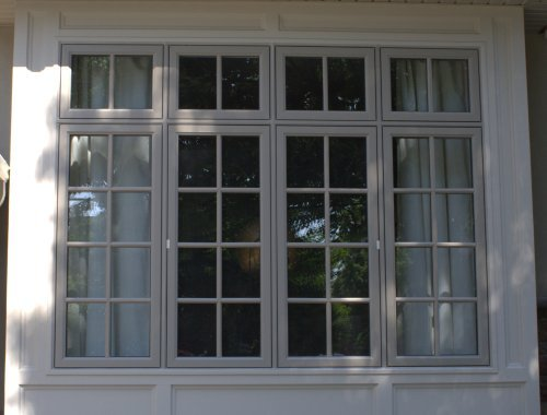 Casement with exterior grills for Exterior window casement design